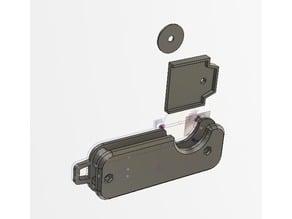 Single Key Case Keychain