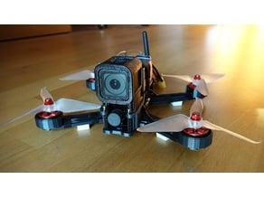 222mm FPV Drone Frame v2