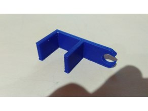 1.75mm simple filament guide for 20mm itopie frame