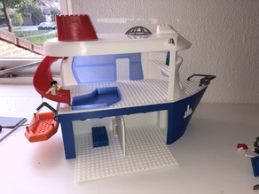 Kids (Lego compatible) Cruise Boat