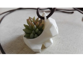 Low Poly Bulbasaur Necklace