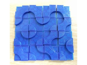 Generalised Smith-shaded Truchet tiles