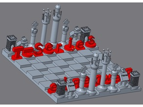 PewDiePie vs T-Series Chess Set