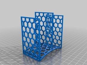 Hex mesh sponge holder - 2 sponges