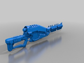 Destiny Exotic Sniper Rifle Ice Breaker 1:1 Scale