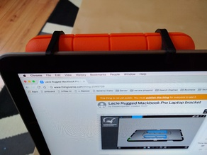 Lacie Rugged Macbook Pro Laptop bracket