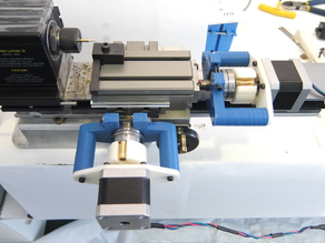 Clamp-On CNC for Taig Lathe