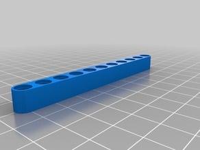 Lego Mindstorms EV3 Beam Brick (based off red 11 hole)