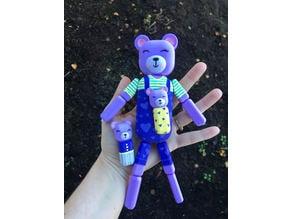 Elastic Strung Bear Doll