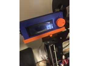 LCD2004 case holder - P3steel