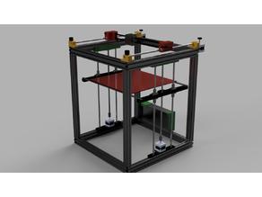 ReP_AL Core XY 3D Printer