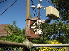 Weatherstation Mount for Hills Hoist