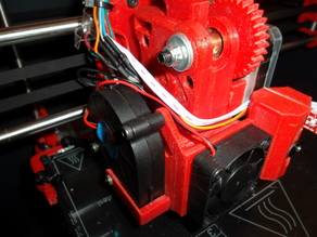 Hipercube complete Pitan Extruder for ArgentoV6 with BFPTouch, cooler and fan and Malevo.