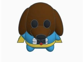 Super Hero dog Chub Chub #2