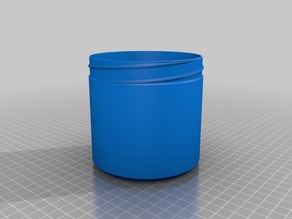 100x100 Container with Knurled Lid