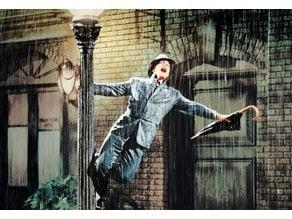 Singing in the Rain Lithophane