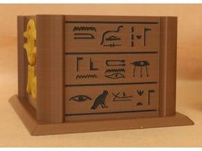 Multi-Color Millenium Puzzle Sarcophagus