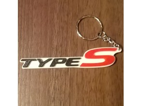 Honda Civic Type-S Keyring / Keyfob / Bag Charm