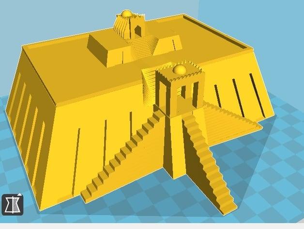 Ziggurat Of Ur By Triangle3D