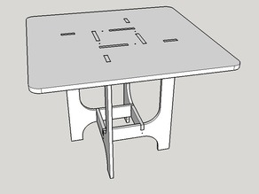 Bauhaus 800 Table