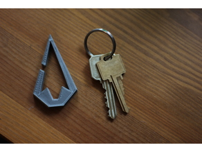 Arrowhead Key Clip