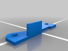Simple Filament Spool Holder using standard  608zz skateboard bearings