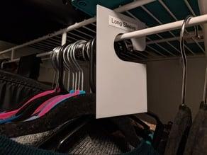 Closet Hanger Divider