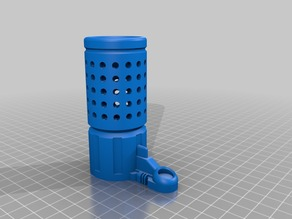 Nerf Rapidstrike Muzzle Battery Case Lock