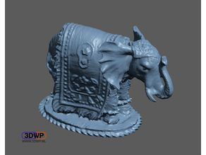 Elephant Sculpture 3D Scan
