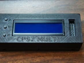 Darksoft CPS2 Multi LCD/Control Panel Enclosure