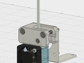 E3D v6 mount for the Solidoodle Press (Bowden Configuration /w Spool Holder)