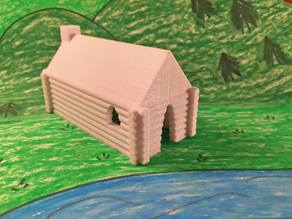 Settlers Log Cabin - Westward Expansion and the Homestead Act