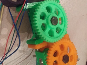 Simple Dual Drive Wade Extruder