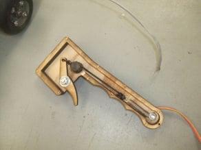 Pistol grip for motorized skateboard(or whatever)