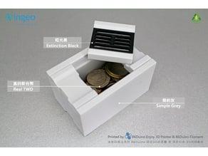 Drain coin bank / 排水溝存錢筒