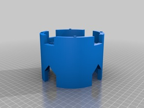 My Customized castle-tower_round : modular system floor