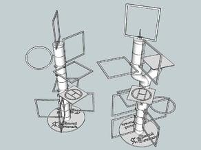 Modular Micro Drone Stunt Tower