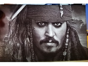 Jack Sparrow Lithophane