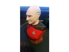 Bald Starship Captain