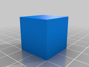 Calibration Cube 20mm By 20 mm 15 minuet print !