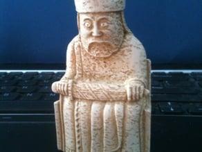 Lewis Chessmen - King
