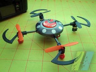 Scythe Motor Mount for UDI U816 Quadcopter
