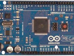 Mounting holes for Arduino Mega 2560