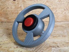Toy car steering wheel