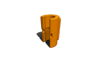 HE3D K280 Radius Rod Spring Anchors