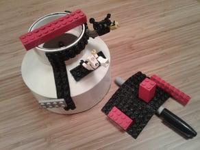 Lego Tape, A Flexible LEGO-Compatible Parametric Model