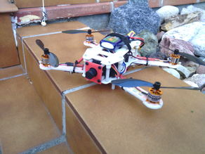 Mini H FPV quadcopter