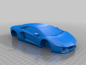 Lamborghini Aventador (clean)