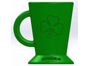 Shamrock Coffee Cup Holder