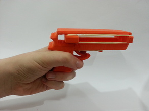 Rubber Band Based Pistol Project (One Day Challenge)